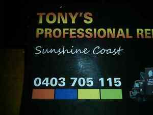 Tonys Professional Removals - Removalist Sunshine Coast - Nambour Nambour Maroochydore Area Preview