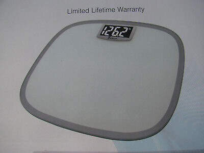 Detecto's Best Bathroom Weight SCALE. New. Wide Body & Digital Tru White (Best Bathroom Scales)