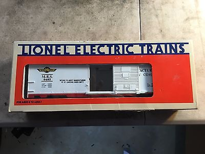 Lionel Electric Trains 6-9483 Manufacturers Railway Company Box Car O Gauge