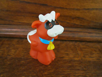 Fisher Price Little People PUMPKIN Party Farm Animal Cow Halloween Mask Costume  - People Halloween Masks