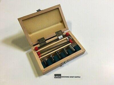 Generic 00 High Speed Steel Keyway Broach Set