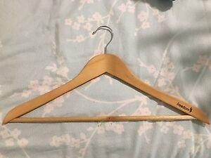 Wooden coat hangers Terrigal Gosford Area Preview