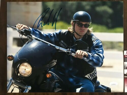 Sons of Anarchy Charlie Hunnam Autographed Signed 11x14 Photo JSA COA #1