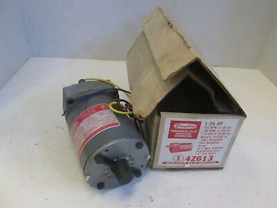 Dayton 4z613 Gear Motor 154 Rpm 115v 5060hz New