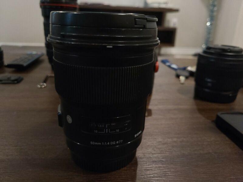 Sigma 311965 50mm f/1.4 DG HSM Art Lens