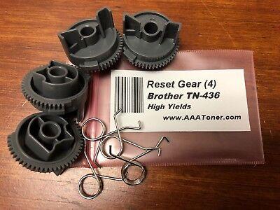 4 x Reset Gear for Brother TN-436, HL-L8260, L8360, L9310, L8900, L9570 - Reset Gear