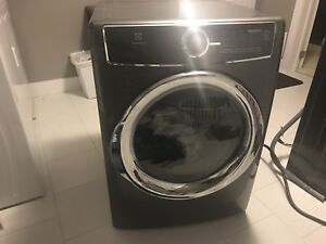6 month old top of the Electrolux Washer and Dryer