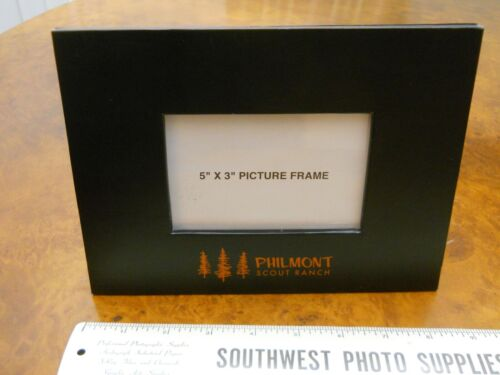 """PHILMONT SCOUT RANCH PICTURE FRAME FOR 5"""" x 3"""" PHOTOS (NEW IN PACKAGE)"""