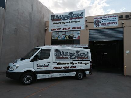 Signwriter, Sticker, Signs, Printing, Design, Installation & Removal  Melbourne CBD Melbourne City Preview