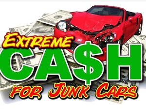 WE BUY ALL SCRAP USED CARS 4 TOP DOLLAR CALL NOW