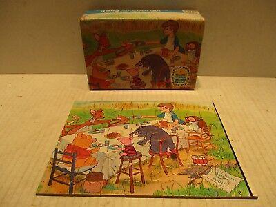 Walt Disney Winnie The Pooh 29 Piece Kids Picture Puzzle 8737 Jaymar Specialty