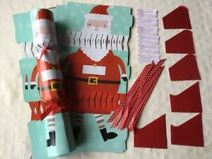 Make your own christmas crackers ebay 6 make your own christmas crackers diy joke hat cracker snaps santa claus new solutioingenieria Images