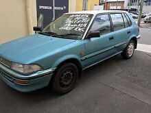 1988 Toyota Corolla Hatchback Woolloongabba Brisbane South West Preview