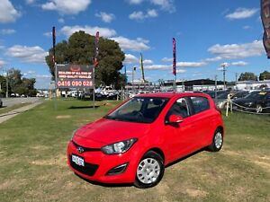 2013 HYUNDAI I20 ACTIVE PB 5D HATCHBACK MANUAL 36 MONTHS FREE WARRANTY  Kenwick Gosnells Area Preview