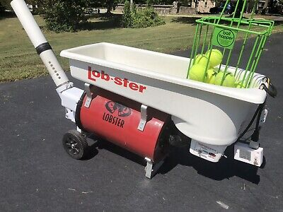 Training Aids Used Lobster Tennis Ball Machine