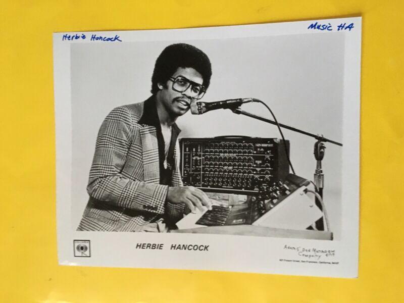 "Herbie Hancock Press Photo 8x10"", Columbia Records. See Info."