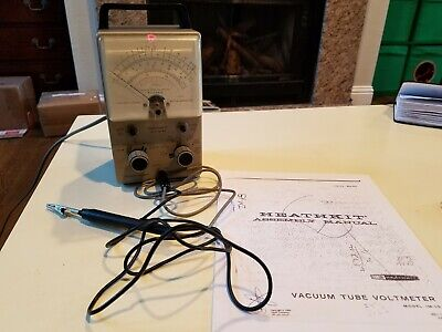 Vintage Heathkit Vtvm Im-18. With Probes. Fully Functional. Great Condition.