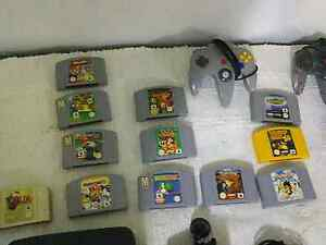 Nintendo 64 console and controls and games n extras George Town George Town Area Preview
