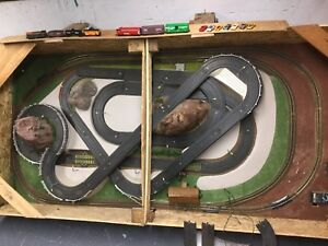 Race track and train track complete
