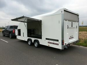 Brian James Race Transporter 4 550x212x180cm E Winde ASR