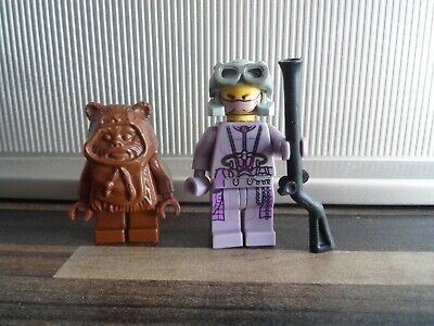 LEGO STAR WARS ORIGINAL RELEASES WICKET THE EWOK AND ZAM WESELL VGC