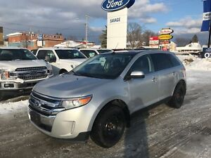 2013 Ford Edge Limited- Roof/ Nav/ Leather/ Winter Tire Pkg