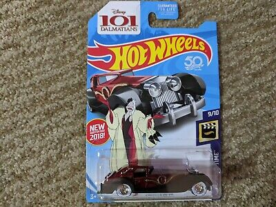 Hot Wheels 2018 Super Treasure Hunt Cruella De Vil