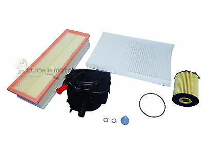 CITROEN C4 1.6 HDi 04-10 OIL AIR FUEL DIESEL POLLEN CABIN FILTER SERVICE KIT NEW