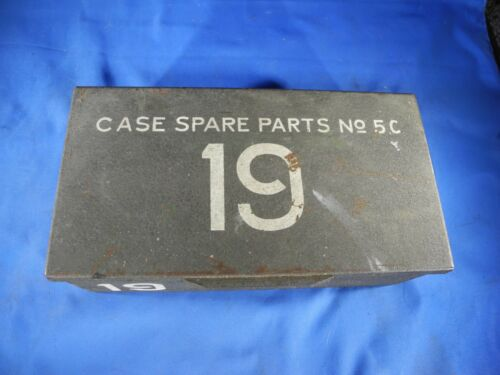 Vintage Military Surplus Wireless Radio 19. Spare Parts Case No. 5C