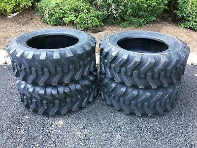 4 New 10-16.5 Skid Steer Tires Camso Sks332 - For Case New Holland More