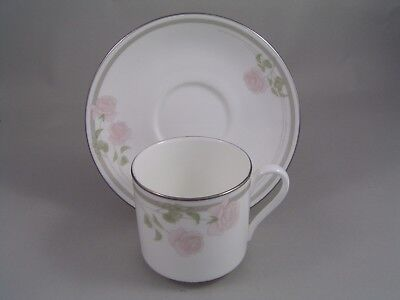 Twilight Rose Cup (ROYAL DOULTON TWILIGHT ROSE COFFEE CUP/CAN AND SAUCER.)