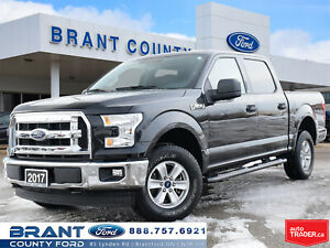 2017 Ford F-150 XLT - LOW KMS, CLEAN CARPROOF!