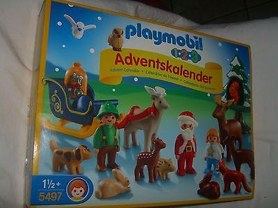 Waldweihnacht Playmobil 5497  ab 1,5 Jahre Adventskalender Kalender Neu Ovp