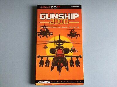 Gunship 2000 - Commodore Amiga CD32