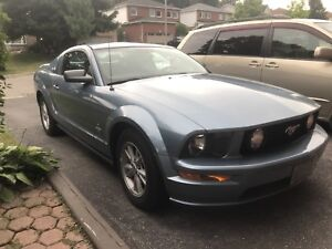 2005 V6 Mustang with Dual Exhaust, Low Kms, and Winter Tires