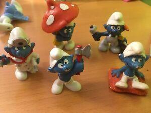 Smurfs figurines de Schtroumpfs très bon état