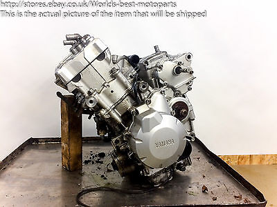 <em>YAMAHA</em> FZ6 1 05 COMPLETE ENGINE ASSEMBLY MOTOR
