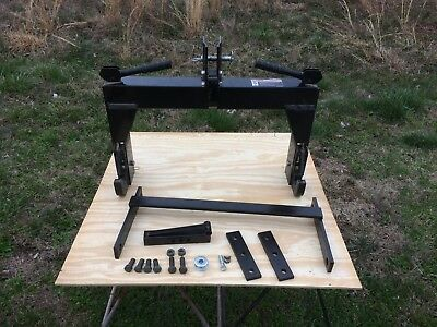Farmall Cub 3-point Complete Quick Hitch Kit - Installs In 15 Minutes