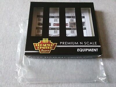 Broadway Limited N H32 Covered Hopper PRR Red 4-Pack B  #3166 Empty Box ~ TS