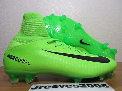 finest selection cbab3 e3f5b Nike JR Mercurial SuperFly V FG Soccer Cleats Sz 4.5y 100% Auth 831943 303  Youth