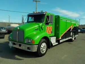 2008 Kenworth T300 Dually Cube Van Diesel Transport Delivery Tru