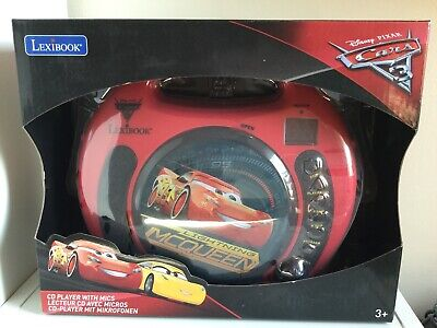 Cars Cd-player (Lexibook CD Player With 2 Microphones - Disney Pixar Cars)