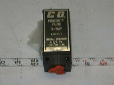 New Go-valve 77-100 Pneumatic 3-way Proximity Valve
