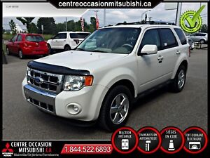 Ford Escape Limited V6 2011 BLANC TOIT OUVRANT CUIR