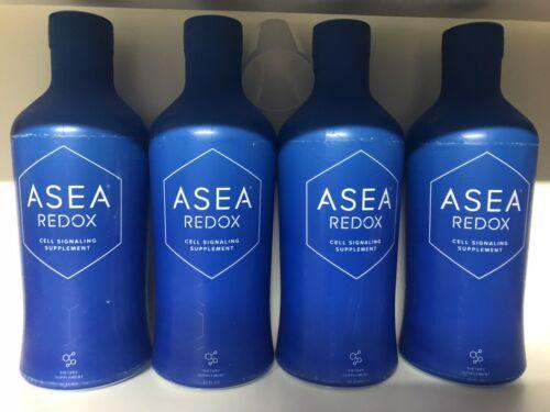 ASEA Water Redox Supplement 1 Case of 4 Bottles - 32 oz Each