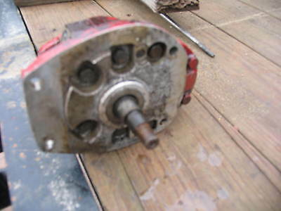 International Ih Farmall Tractor Hydraulic Pump M Super M Wd9 Wd6 Smt 400 450