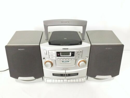Sony CFD-ZW755 Tape/CD AM FM Radio Boom Box