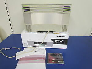 bose acoustic wave music system series ii model cd 2000 ebay. Black Bedroom Furniture Sets. Home Design Ideas