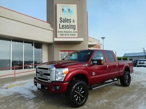 2016 Ford F-350 Platinum/LIFTED/Diesel, NO CREDIT CHECK FINANCIN