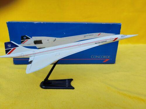 British Airways Concorde Model w/ Stand & Box